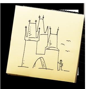 Dvě brány, ale tři věže – KAREL JE KING!