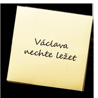 Václava nechte ležet – KAREL JE KING!
