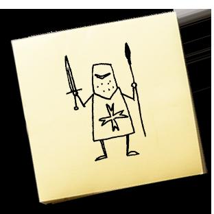 Křížovník – KAREL JE KING!