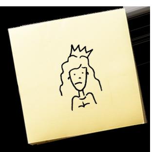 Díváš se tak smutně, že bych ti dal korunu – KAREL JE KING!