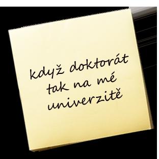 když doktorát tak na mé univerzitě – KAREL JE KING!